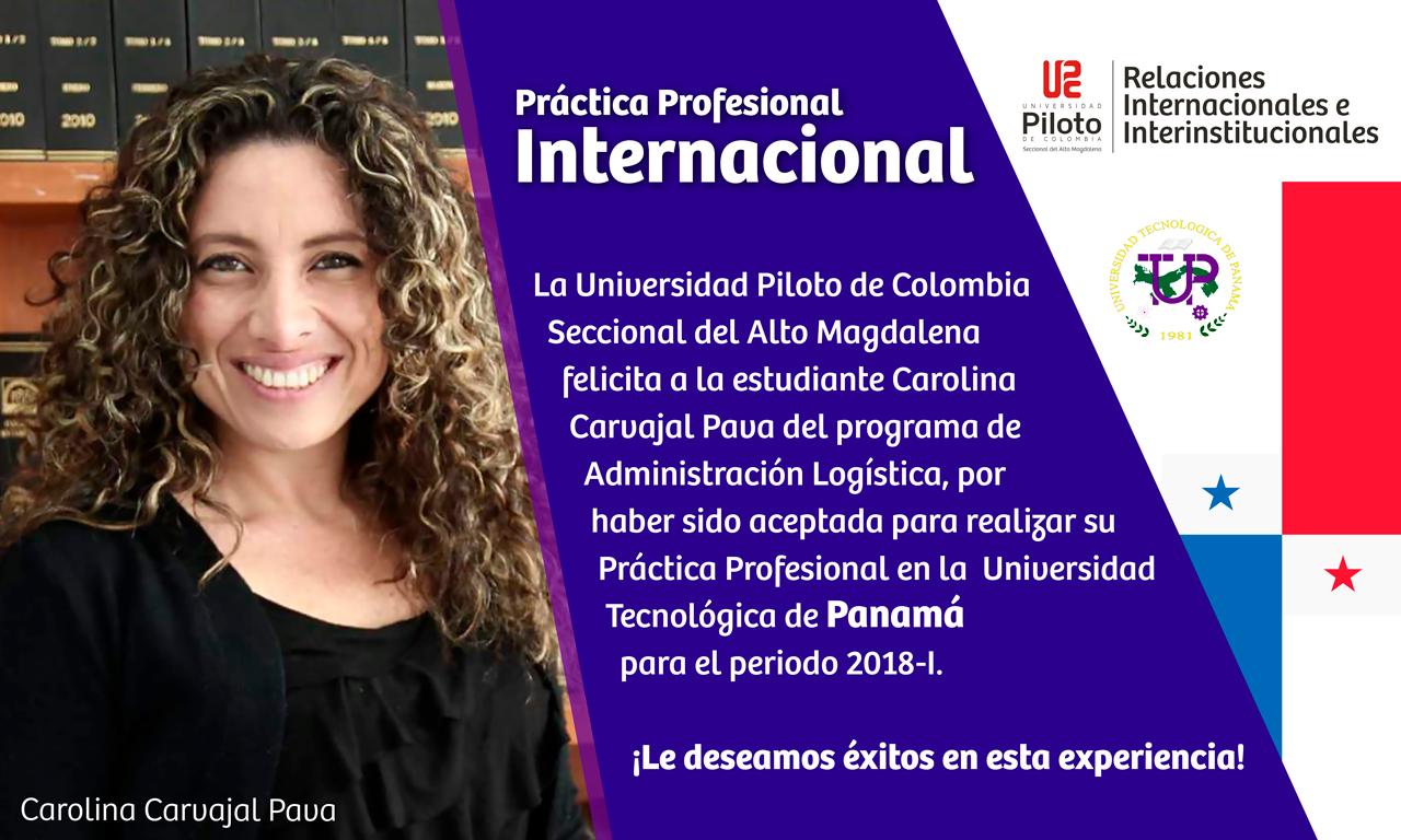 Práctica Profesional Internacional en Panamá 2018 -I
