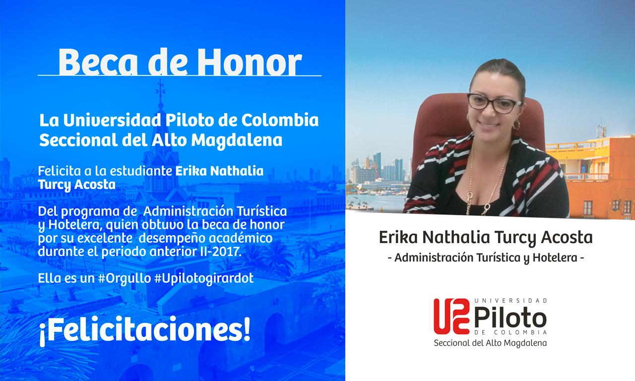Beca de Honor Periodo II-2017